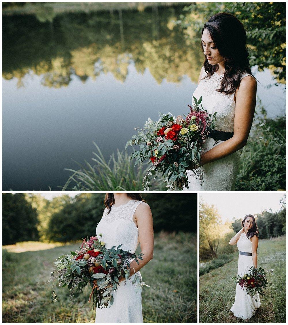 Bridal Session in Goode, Virginia