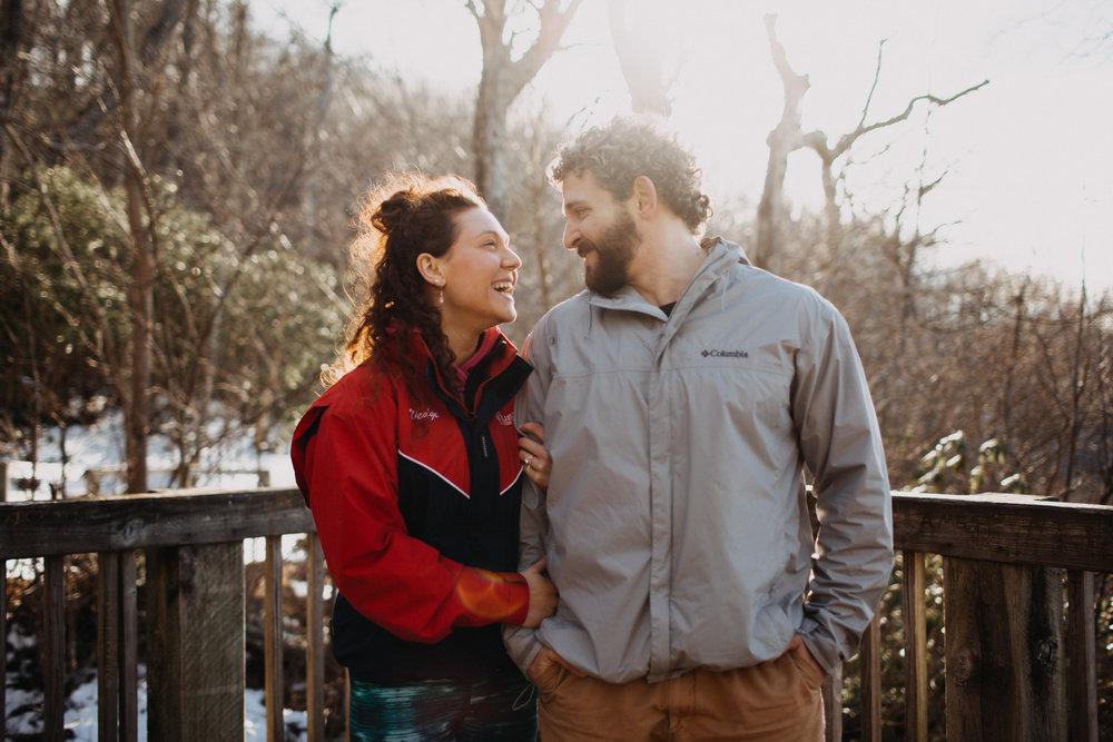 Crabtree Falls engagement session