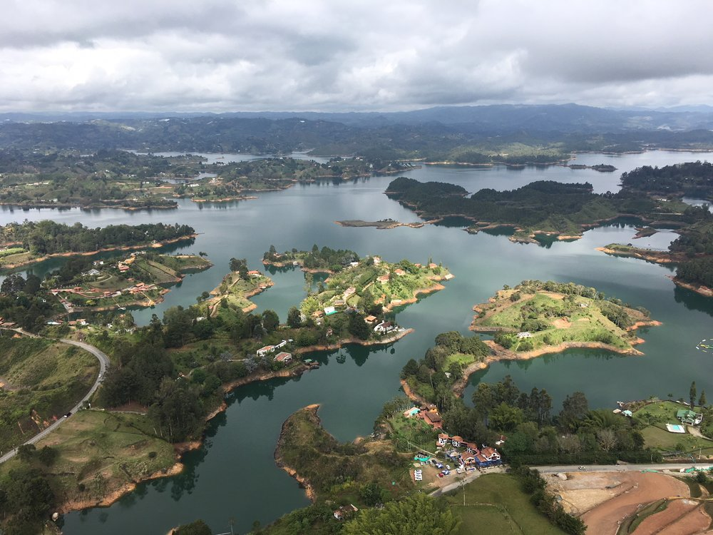 This is a worthwhile day trip! #Guatapè