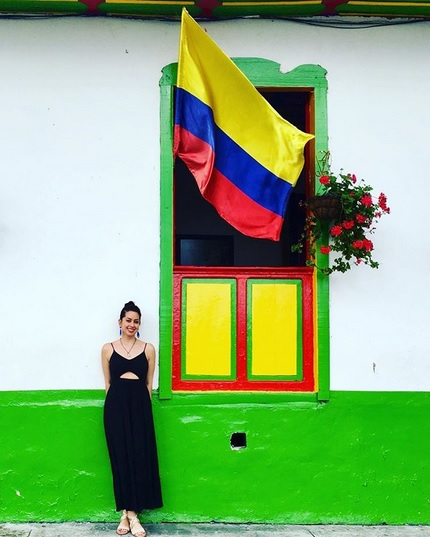 Amalia in Salento, Colombia, 2018