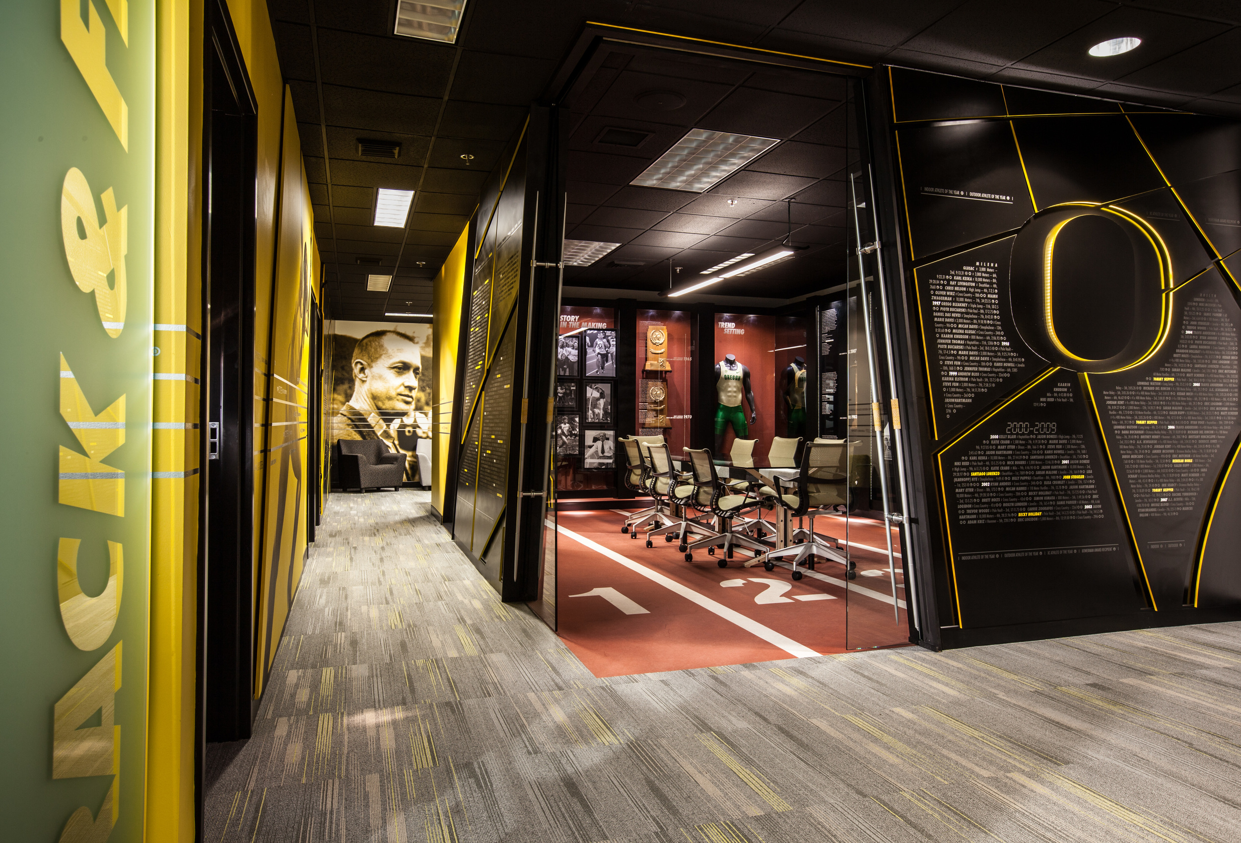 UO Track & Field Offices — Campfire Collaborative