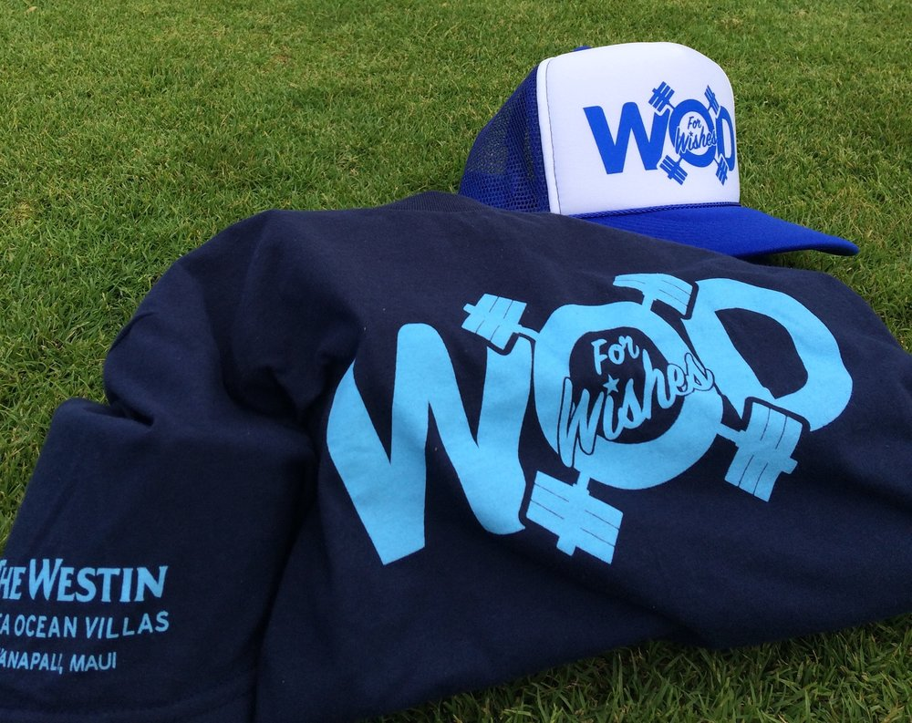 Swag for WOD for Wishes participants  Photo credit: James Donnelly