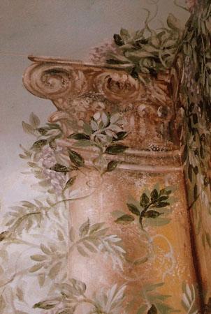 Detail, Italian mural.