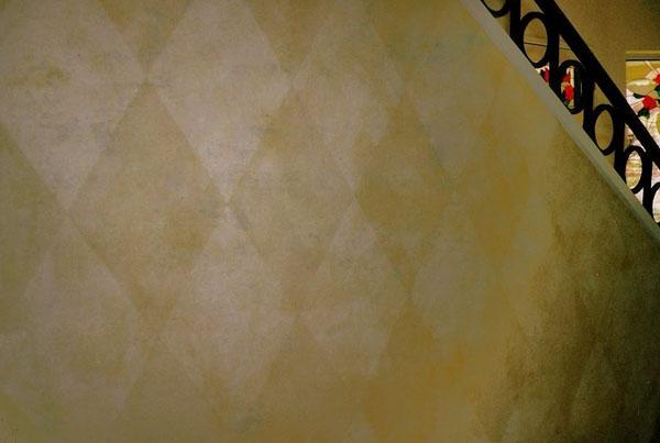 Patterns in glazes.