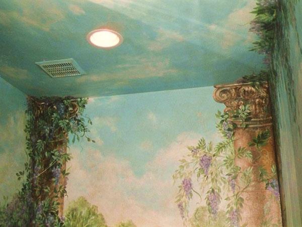 Detail, powder room.