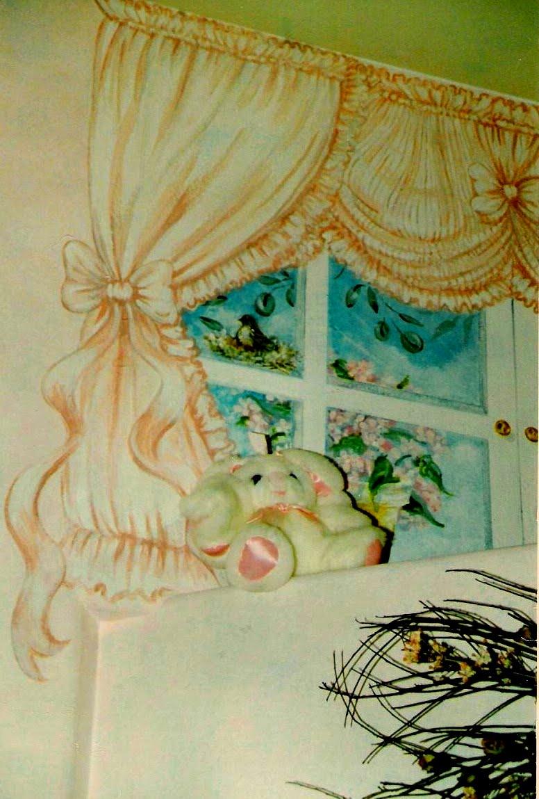 Detail, girl's room.