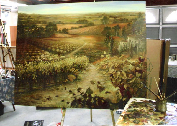 Vineyard in Progress