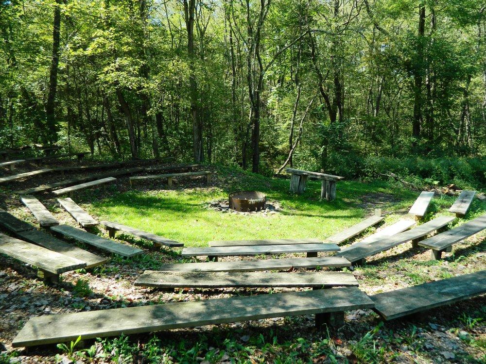 Campfire Circle - Main Camp