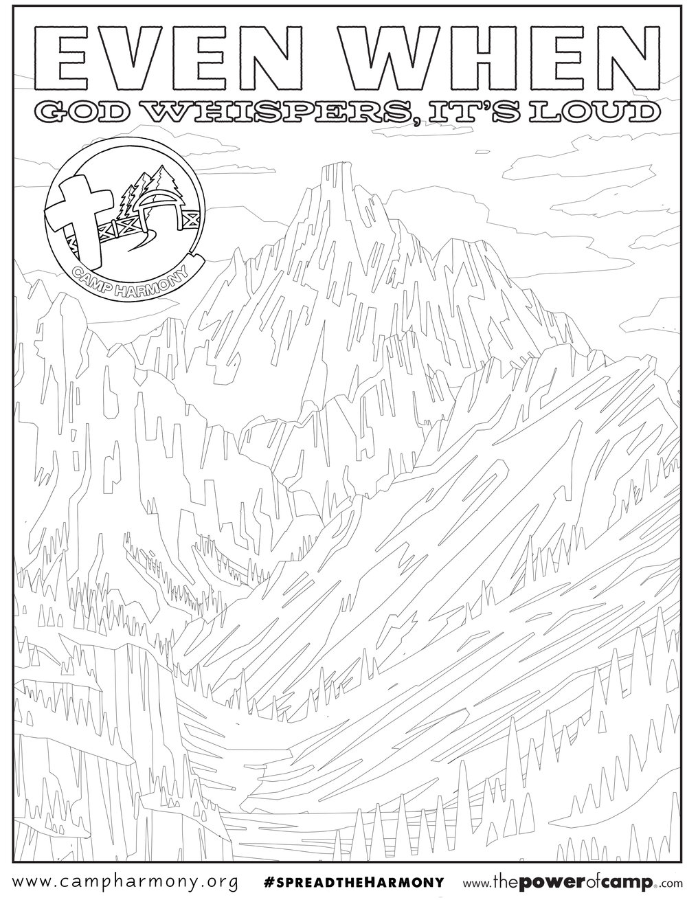 coloring pages u2014 camp harmony hooversville pa 814 798 5885