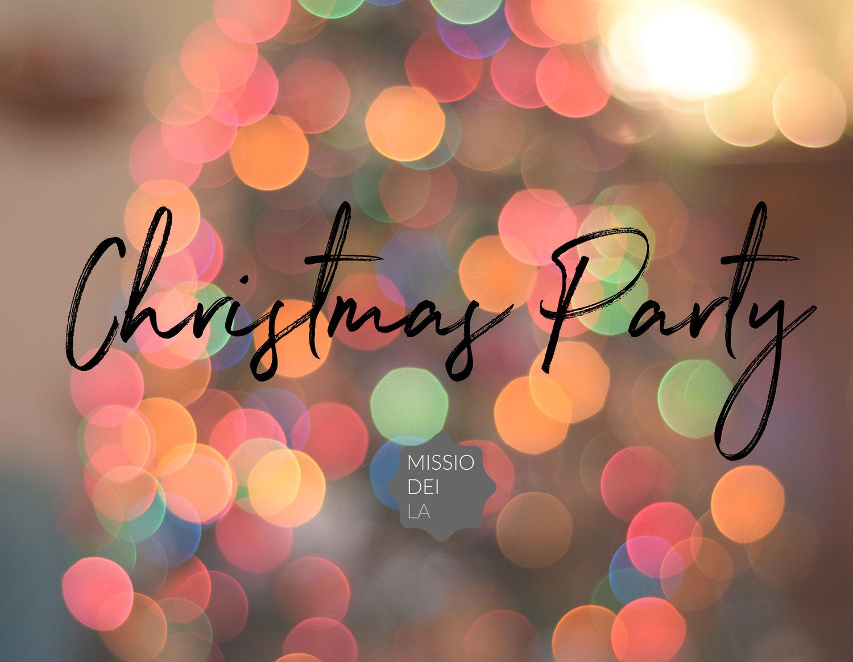 Mdla Christmas Party Missio Dei