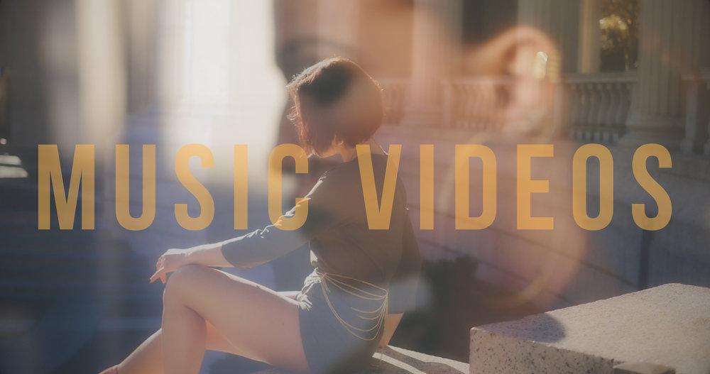 Music videos starting at $500