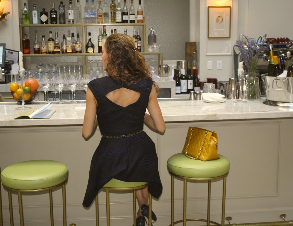A LBD is never, ever (ever) the wrong choice. Always works. Just like the delightful   boisson   at Spring in DTLA. You should have one (or two) LBDs in your closet that you love. Similar   here   (in navy too!)