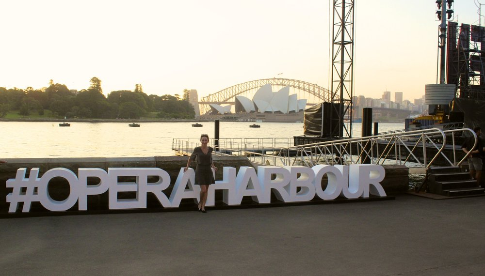 Opera on the harbor