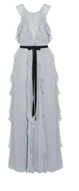 TheOutnet is a great place to online browse -- the sales are amazing but generally on high-end pieces so sometimes still a splurge. This  Sachin & Babi chiffon dress  may well be worth it!