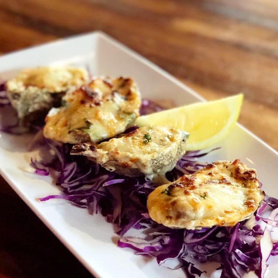 $14.00 Mozzarella Cheese, Cajun Seasoning and Garlic Butter