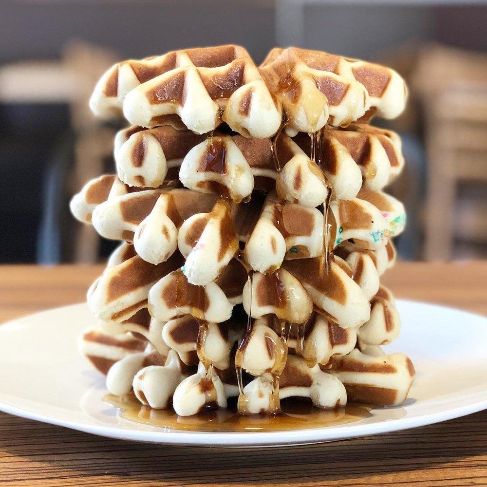 Belgium liege waffles