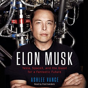 Rating- 4/5  Facinating.  Gives some understanding behind what drives Elon.  He isn't as charismatic as Jobs.  More book smart than street smart.