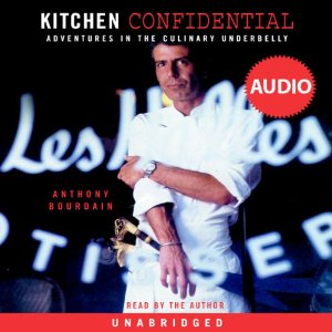 Rating- 4/5  If you think you want to own a restaurant someday read this first.  Incredible behind the scenes from Anthony Bourdain about what it's really like to work in a kitchen in all sorts of restaurants.  He's candid and funny but pretty raunchy at times.