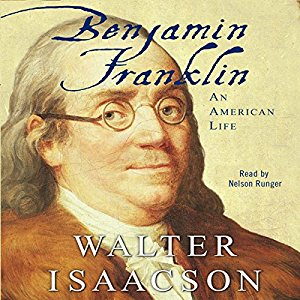 Rating 4/5  Franklin is the man.  Brilliant inventor, author, and politician.  Charismatic and smooth with the ladies.  I'll probably do a video about him in the future.  Really enjoyable read.  He seems like the coolest of the founding fathers.