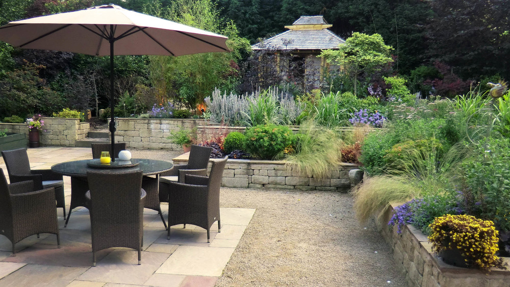 Garden designed for client in north Manchester