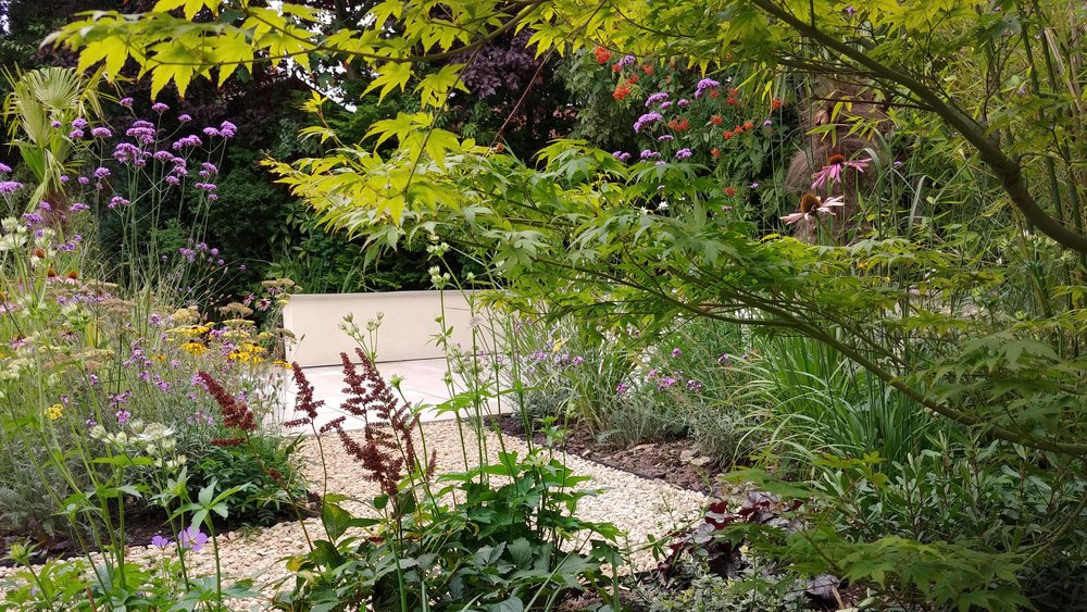 Garden Design Cheshire: Prairie Planting And Porcelain Patio