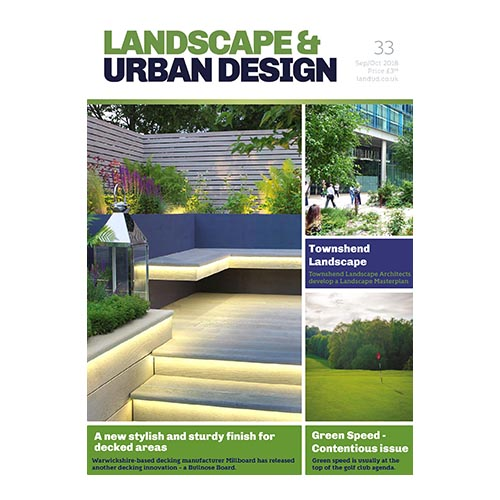 Landscape And Urban Design: September 2108