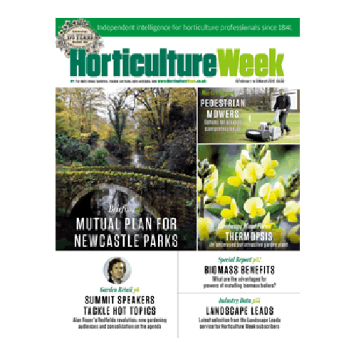 Horticulture Week: 30th July 2013