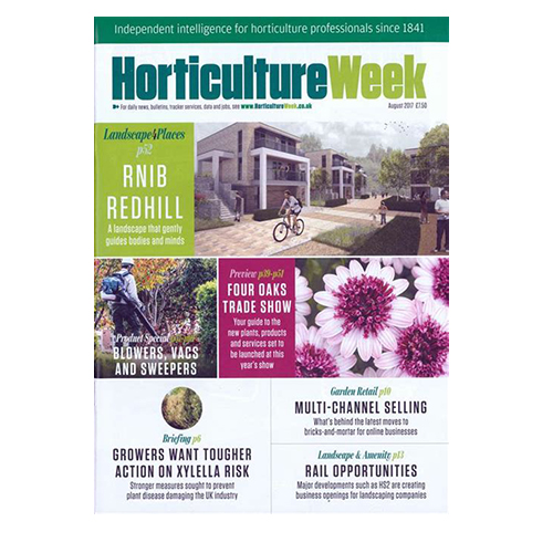Horticulture Week: 25th July 2013