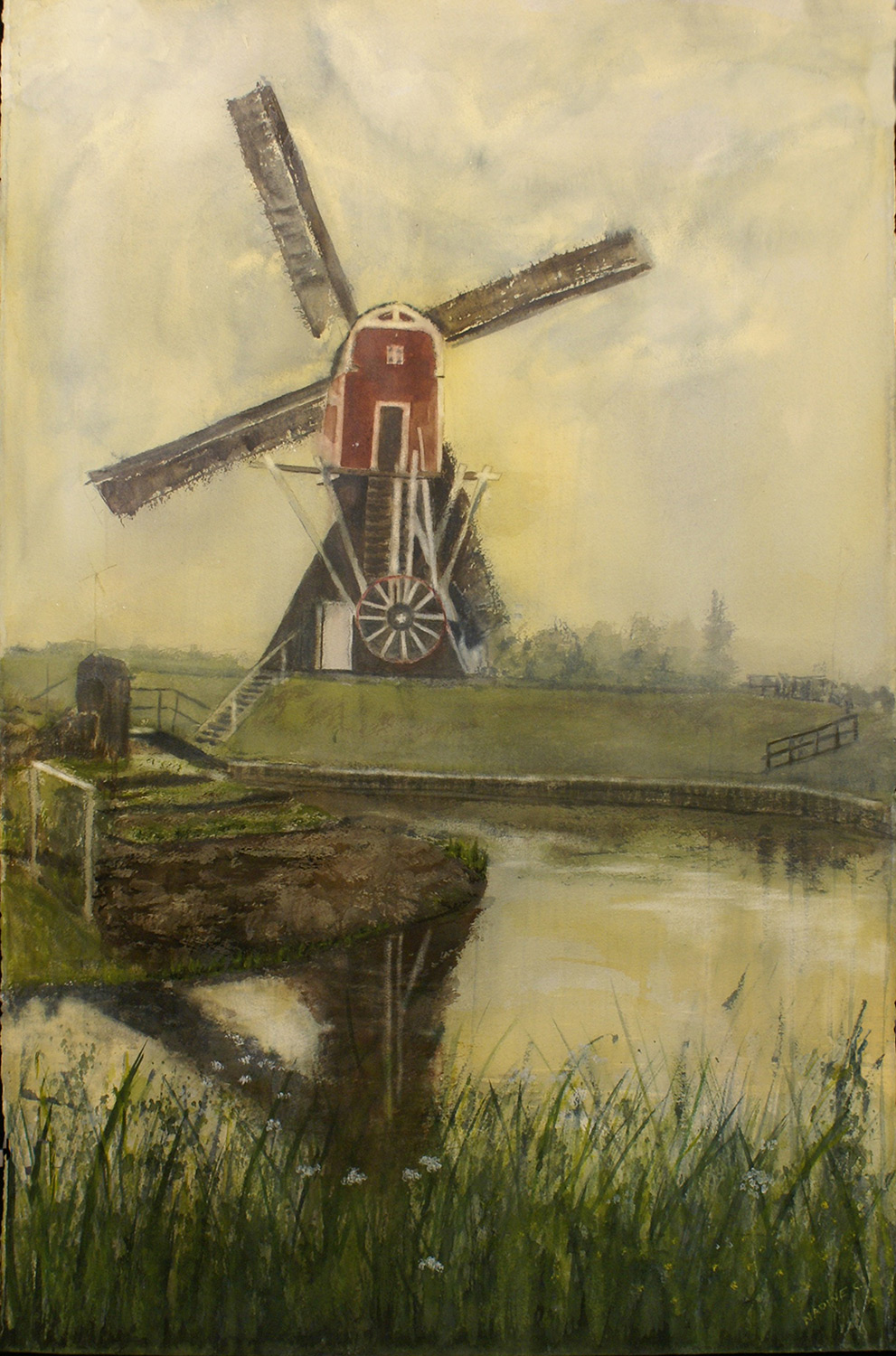 HOLLAND POST WINDMILL