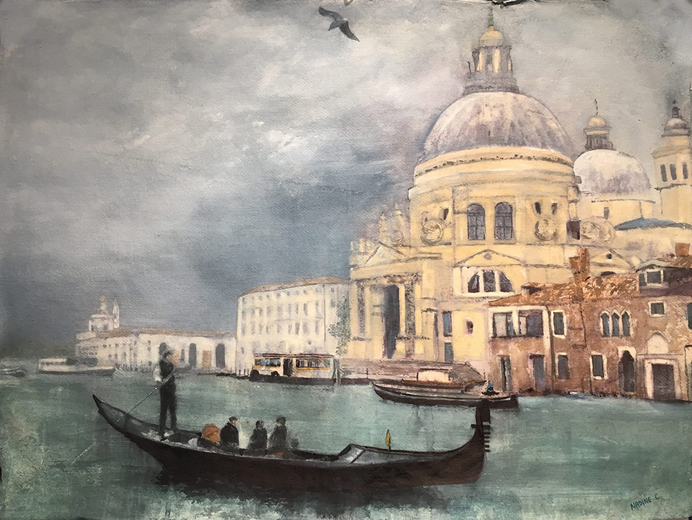 Venice Basilica from Grand Canal