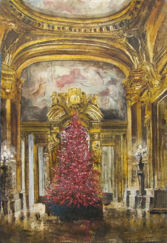 Palais Garnier Upper Foyer