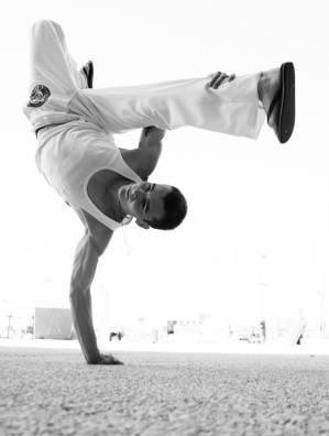 Pierre Le Vacon, professeur de Capoeira, Rennes.