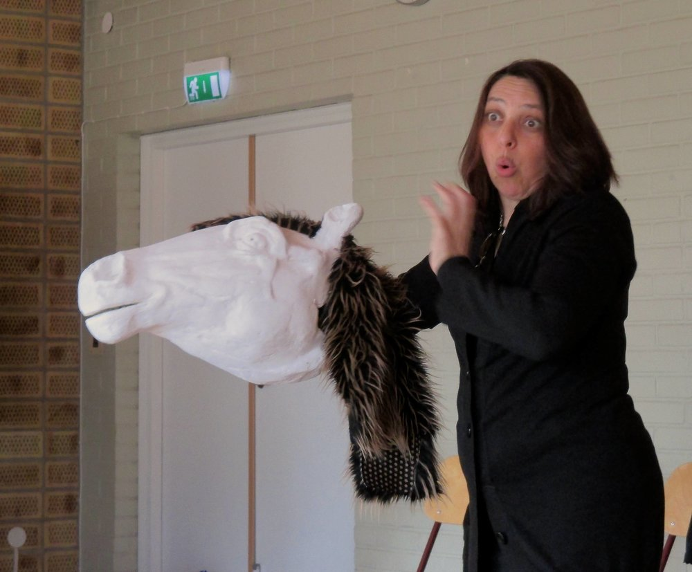 Mariana Araoz, comédienne, collectif masque.