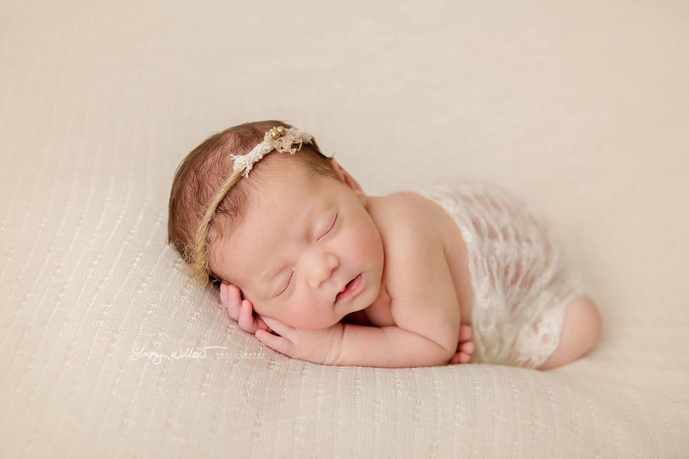 Newborn photography croydon south melbourne cream pink peaceful baby girl sleepy willow jpg