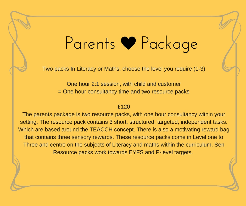 parents package sen resource