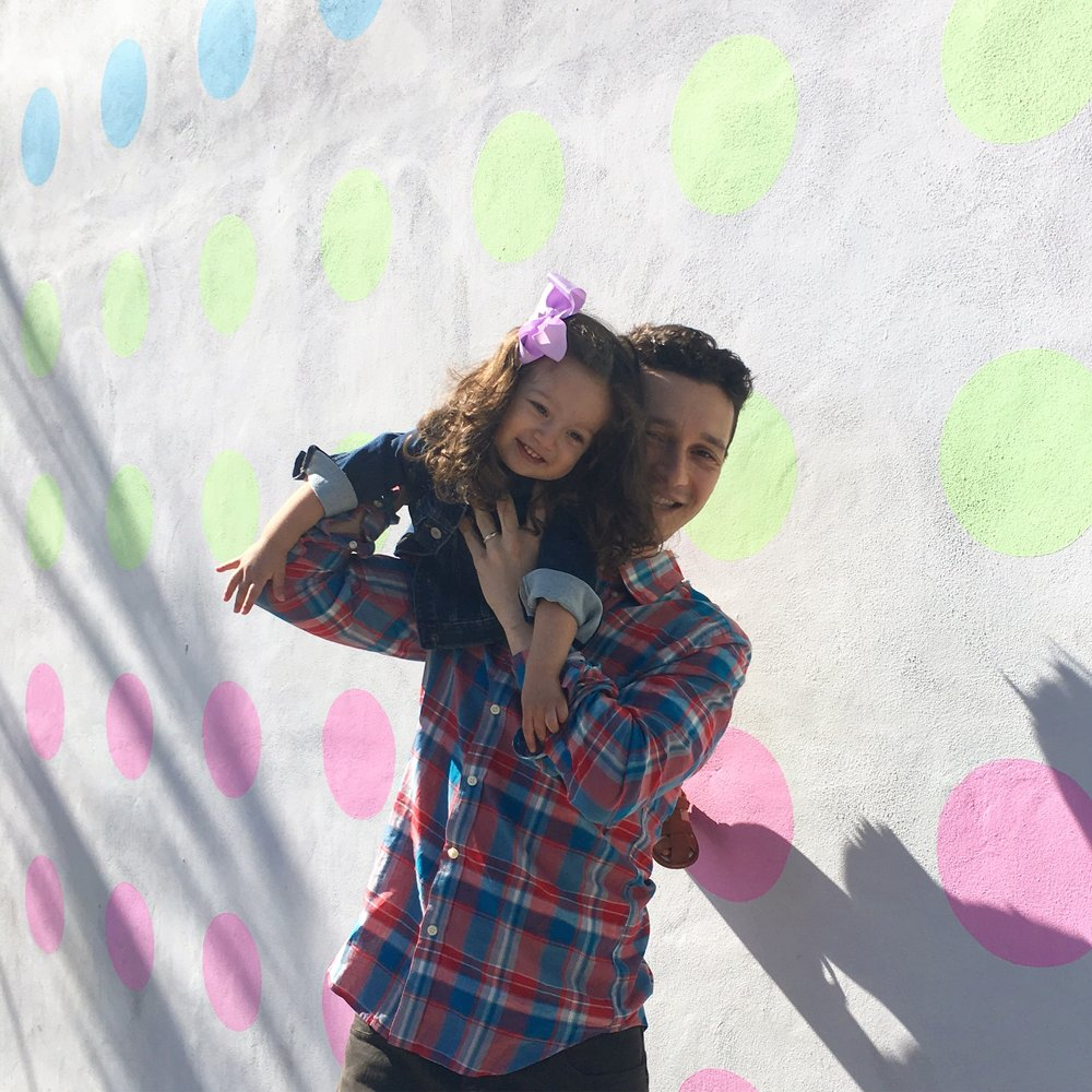 checking out the wynwood walls with pops