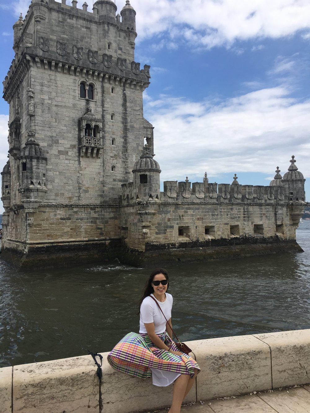 outside the belém tower