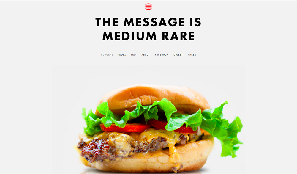 The Message is Medium Rare combines a love of burgers with lessons on creativity.