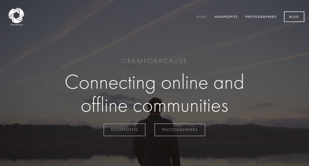 Gramforacause connects Instagram photographers with nonprofits and social enterprises, but started as a humble hashtag. (Since private side things are hard to find for obvious reasons, this example doesn't relate.)