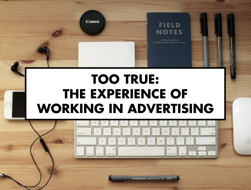 The experience of working in advertising