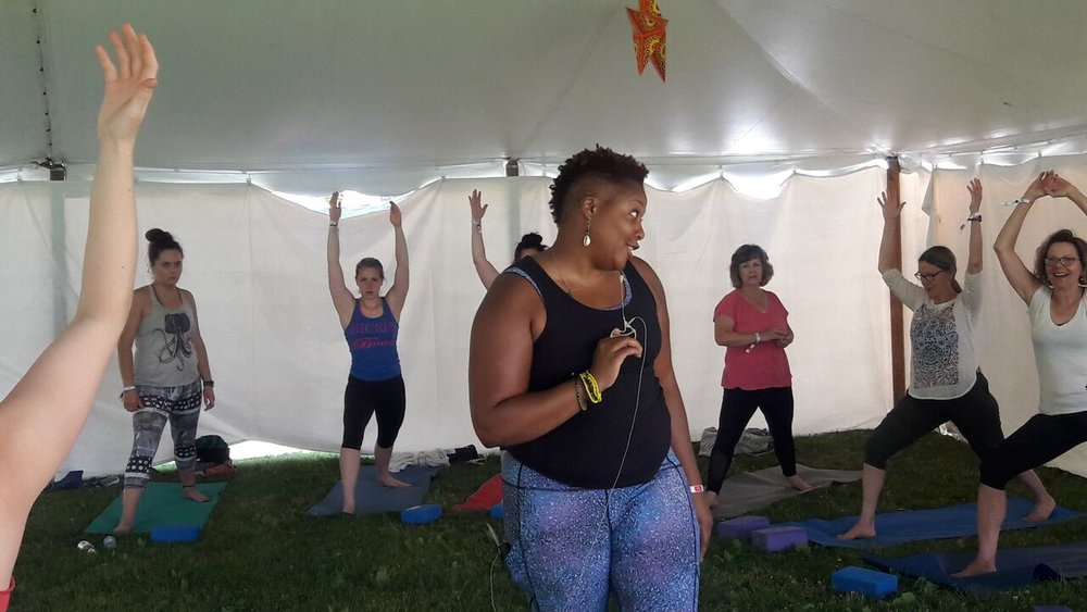 Wellness Warrior Ceremony, Maine Yoga Fest 2018, Photo Credit  Kate Strait  Photography