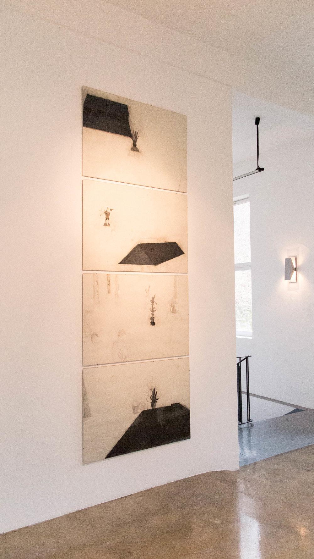 Ausstellungsimpressionen Nora Mesaroš