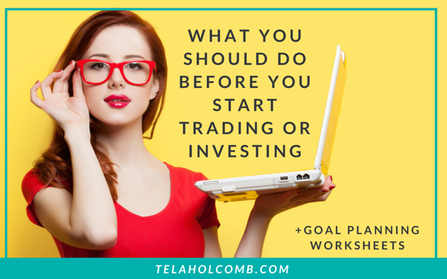 Getting started with trading and investing can be exciting but there are some steps you should take first. Today, I'm going to tell you the no BS place you should start before you start investing your hard earned money!