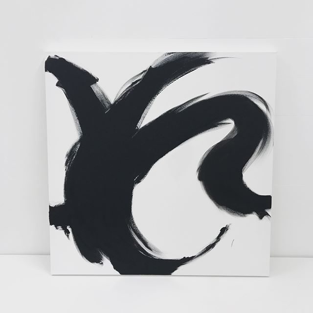 Movement and energy...more exploration with these concepts #mylittleperfect #art #design #illustration #artist #movement #energy #texture #black #white #rhythm #paint #artwork #original #interiors #colour #monochromatic #abbotsford #expression #exploration #freedom