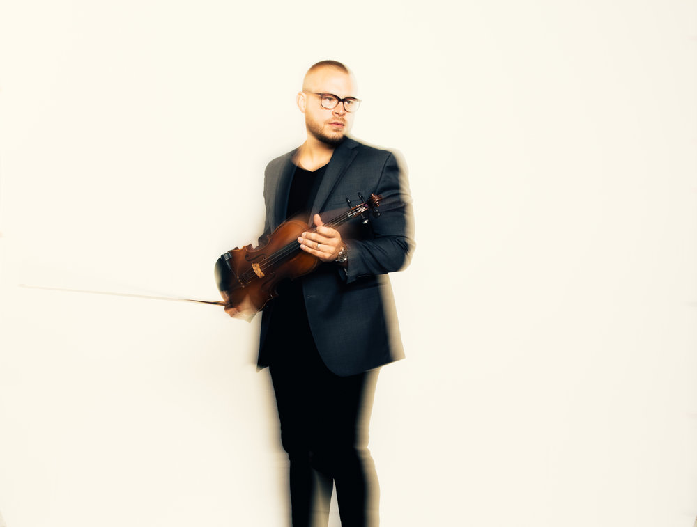Shawn Williams, a music creator and violin player in Nashville, Tennessee