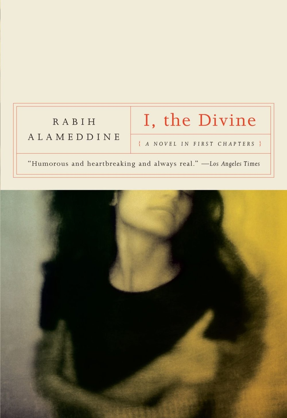 Hannah: I, The Divine - by Rabih Alameddine (W. W. Norton & Company)I, the Divine is a fragmented story of Sarah Nour El-Din, a woman seeking to create space for herself amongst conflict: civil war, family upheaval, divorce, and infidelity. The novel is told entirely through Sarah's attempts at a first chapter of an autobiographical novel/memoir. Each chapter reveals a different vignette—some delivered drunk, entirely in French, or scrapped mid-sentence—that come together to shape a portrait of her life between the United States and Lebanon.