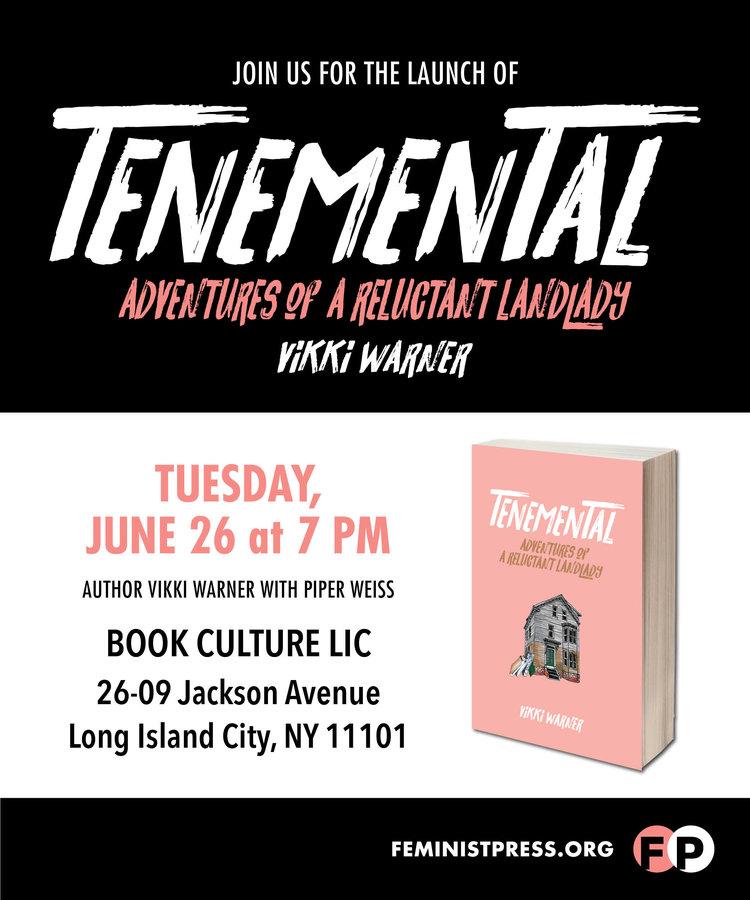 Tenemental book culture lic feminist press malvernweather Images