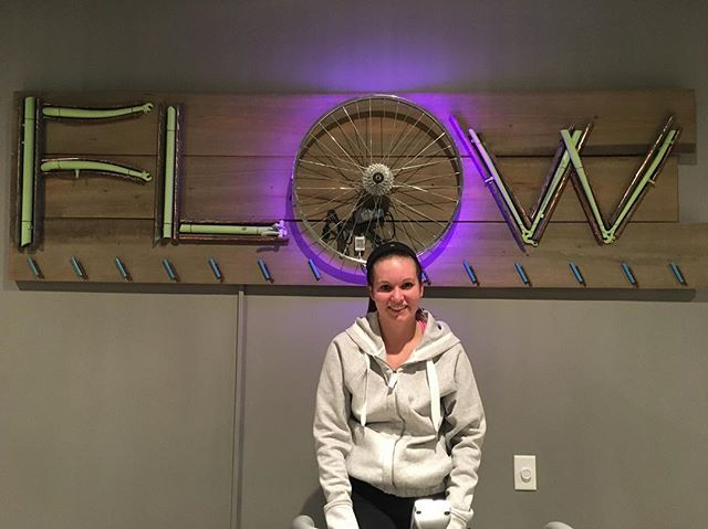 Jennifer! Welcome to the 💯 RIDE club! You are a rock star! . . . #100RIDEclub #findyourflow #getstrong #beinspired #cycleharder #cyclesmarter #cyclestronger #cycle #indoorcycling #community #sweat #rva #rvafit #sweatatflow #fusionclasses #notyouraveragecyclestudio