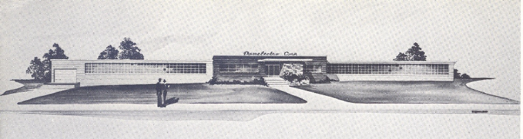 Danelectro Corporation - Neptune, New Jersey USA. Architect's Drawing