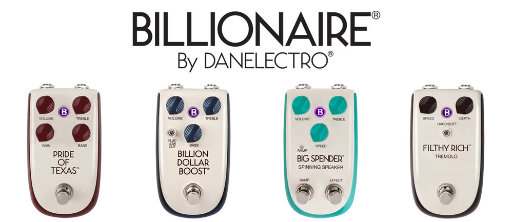 Billionaire pedals